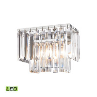 Elk Lighting Palacial LED Vanity in Polished Chrome 15210/1-LED