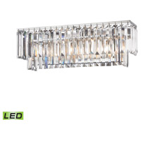 Palacial LED 27 inch Polished Chrome Vanity Wall Light