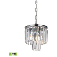 Palacial LED 8 inch Polished Chrome Pendant Ceiling Light