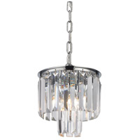 Palacial 1 Light 8 inch Polished Chrome Pendant Ceiling Light in Standard