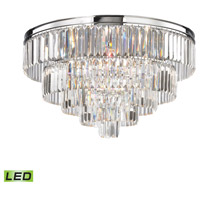 Palacial LED 31 inch Polished Chrome Chandelier Ceiling Light