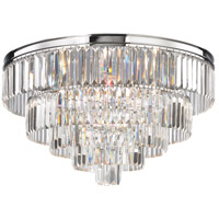Palacial 6 Light 31 inch Polished Chrome Chandelier Ceiling Light in Standard