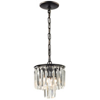 Palacial 1 Light 8 inch Oil Rubbed Bronze Pendant Ceiling Light in Standard