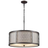 ELK 15243/6 Filmore 6 Light 23 inch Oil Rubbed Bronze Pendant Ceiling Light
