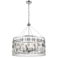 Chamelon 6 Light 24 inch Polished Chrome Pendant Ceiling Light