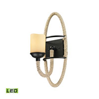ELK Lighting Pearce LED Wall Sconce in Matte Black 15910/1-LED