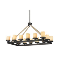 ELK Lighting Pearce 14 Light Chandelier in Matte Black 15914/14