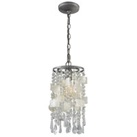 ELK 15934/1 Alexandra 1 Light 8 inch Weathered Zinc Mini Pendant Ceiling Light