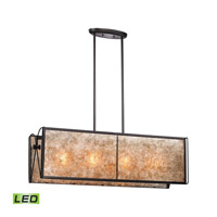 Capistrano LED 44 inch Oil Rubbed Bronze Chandelier Ceiling Light