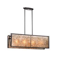 Capistrano 4 Light 44 inch Oil Rubbed Bronze Chandelier Ceiling Light in Standard