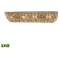 ELK 15961/4-LED Elizabethan LED 27 inch Dark Bronze Vanity Light Wall Light