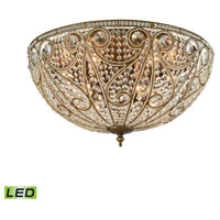 Elizabethan LED 28 inch Dark Bronze Flush Mount Ceiling Light