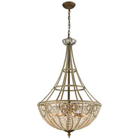 ELK 15966/8 Elizabethan 8 Light 22 inch Dark Bronze Chandelier Ceiling Light in Incandescent