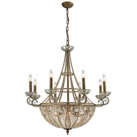 ELK 15968/8+6 Elizabethan 14 Light 35 inch Dark Bronze Chandelier Ceiling Light