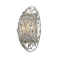 ELK Lighting Winter Forest 1 Light Wall Sconce in Aged Silver 16010/1