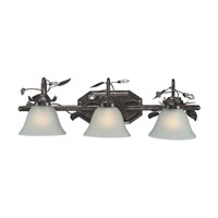 ELK Lighting Maribella 3 Light Bath Bar in Deep Rust 16027/3