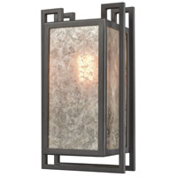Stasis 1 Light 7 inch Oil Rubbed Bronze Wall Sconce Wall Light
