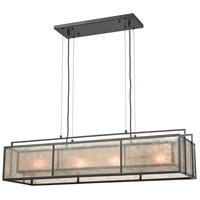 ELK 16194/4 Stasis 4 Light 42 inch Oil Rubbed Bronze Billiard Light Ceiling Light