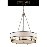 Tribeca 6 Light 24 inch Polished Nickel Pendant Ceiling Light