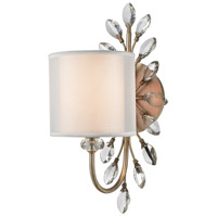 Asbury 1 Light 9 inch Aged Silver Vanity Light Wall Light