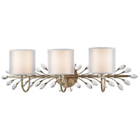 Asbury 3 Light 34 inch Aged Silver Vanity Light Wall Light