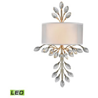 ELK 16280/2-LED Asbury LED 11 inch Aged Silver Sconce Wall Light