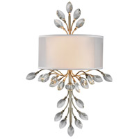 Asbury 2 Light 11 inch Aged Silver Wall Sconce Wall Light in Standard