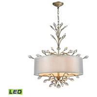ELK 16282/4-LED Asbury LED 26 inch Aged Silver Chandelier Ceiling Light
