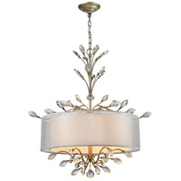 Asbury 4 Light 26 inch Aged Silver Chandelier Ceiling Light in Standard