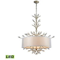 Asbury LED 32 inch Aged Silver Chandelier Ceiling Light