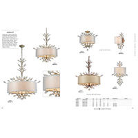 ELK 16283/6-LED Asbury LED 32 inch Aged Silver Chandelier Ceiling Light alternative photo thumbnail