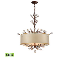 Asbury LED 26 inch Spanish Bronze Chandelier Ceiling Light