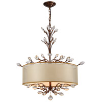 Asbury 4 Light 26 inch Spanish Bronze Chandelier Ceiling Light in Incandescent