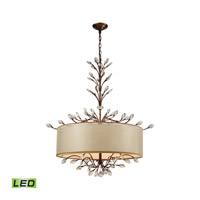Asbury LED 32 inch Spanish Bronze Chandelier Ceiling Light