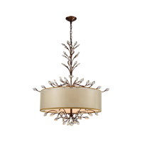 Asbury 6 Light 32 inch Spanish Bronze Chandelier Ceiling Light in Standard