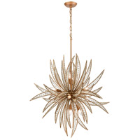 ELK 16766/11 Naples 11 Light 34 inch Matte Gold Chandelier Ceiling Light