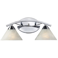 ELK 17021/2 Elysburg 2 Light 18 inch Polished Chrome Vanity Light Wall Light