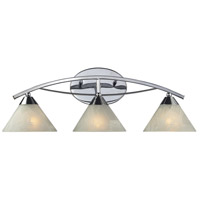 ELK 17023/3 Elysburg 3 Light 25 inch Polished Chrome Vanity Light Wall Light