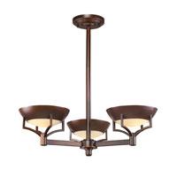 ELK 17037/3 Sullivan 3 Light 23 inch Aged Bronze Chandelier Ceiling Light