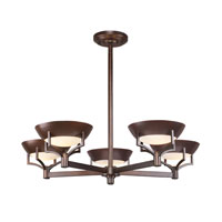 ELK Lighting Sullivan 5 Light Chandelier in Aged Bronze 17038/5