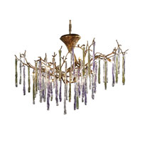 ELK Lighting Stalavidri 12 Light Chandelier in Talha Bronze 1703/12