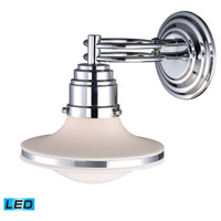 ELK Lighting Retrospectives 1 Light Wall Sconce in Polished Chrome 17050/1-LED