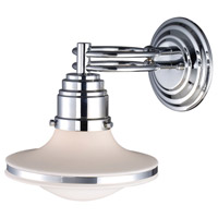 ELK 17050/1 Retrospectives 1 Light 8 inch Polished Chrome Sconce Wall Light in Standard