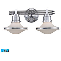 ELK Lighting Retrospectives 2 Light Bath Bar in Polished Chrome 17051/2-LED