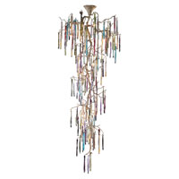 ELK Lighting Stalavidri 21 Light Chandelier in Talha Bronze 1708/21
