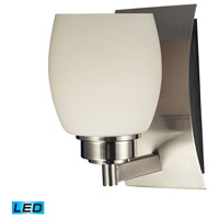 Northport LED 5 inch Satin Nickel Bath Bar Wall Light in 1