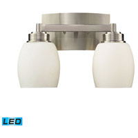 Northport LED 13 inch Satin Nickel Bath Bar Wall Light in 2