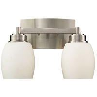 Northport 2 Light 13 inch Satin Nickel Vanity Wall Light in Standard