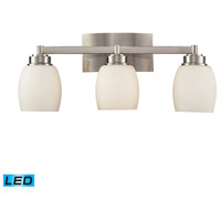 ELK Lighting Northport 3 Light Bath Bar in Satin Nickel 17102/3-LED