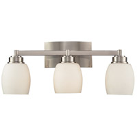 ELK 17102/3 Northport 3 Light 20 inch Satin Nickel Vanity Wall Light in Standard photo thumbnail
